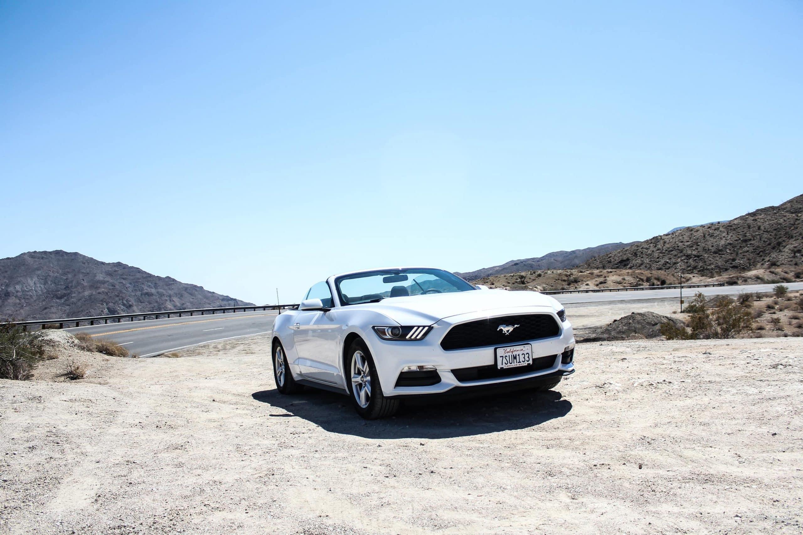 Mustang x Californien