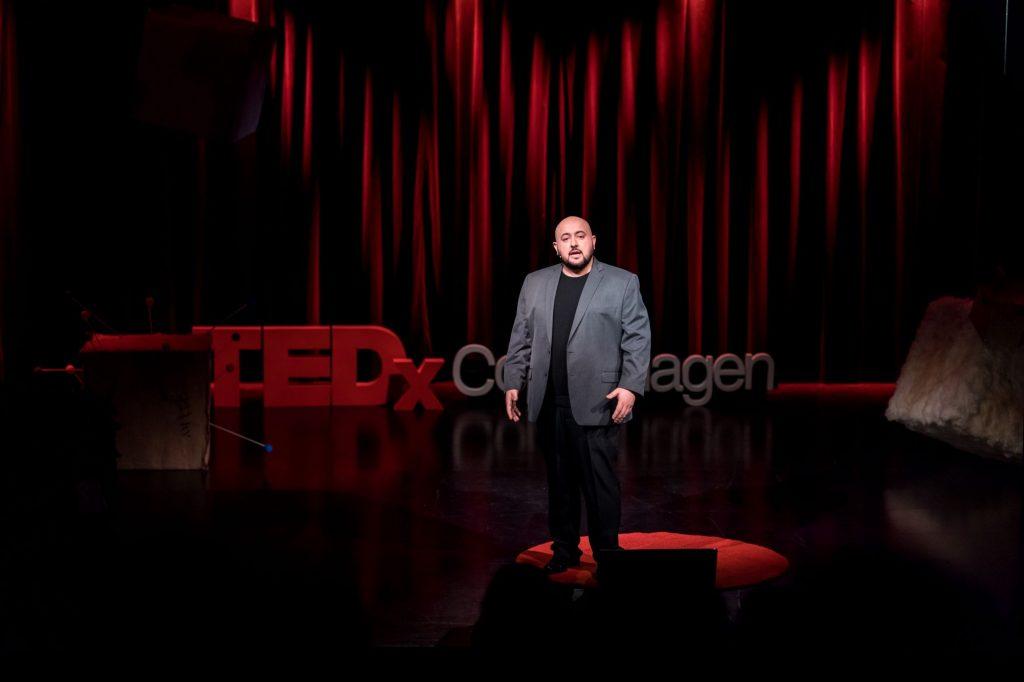 Alex Sabour TedxCopenhagen We Believe