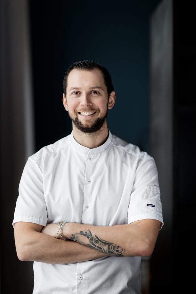 Portrait of chef Patryk Stafin